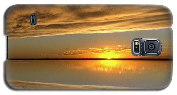 Sunset Under The Clouds Galaxy S5 Case