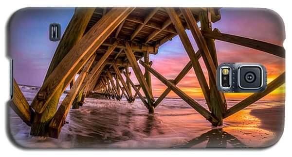 Sunset Under The Pier Galaxy S5 Case