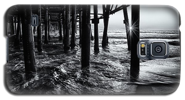 Sunset Under The Santa Monica Pier Galaxy S5 Case