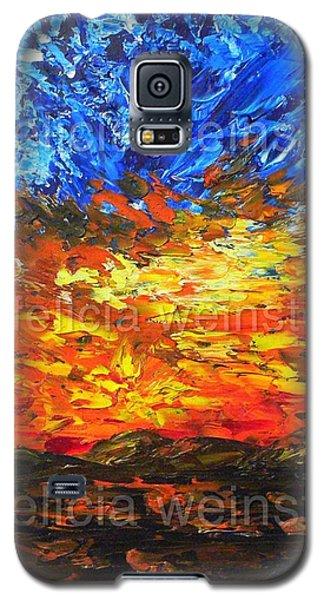 Sunset V Galaxy S5 Case