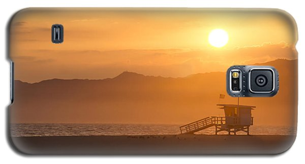 Sunset Venice Beach  Galaxy S5 Case