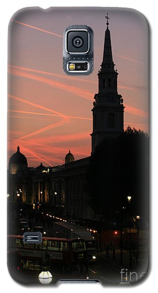 Galaxy S5 Case featuring the photograph Sunset View From Charing Cross  by Paula Guttilla