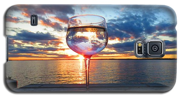June Sunset On The River Galaxy S5 Case