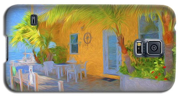 Sunset Villas Waterfront Apartment Galaxy S5 Case