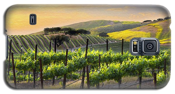 Sunset Vineyard Galaxy S5 Case