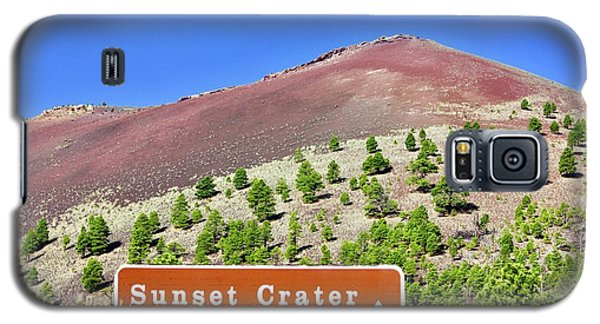 Sunset Crater Volcano Galaxy S5 Case