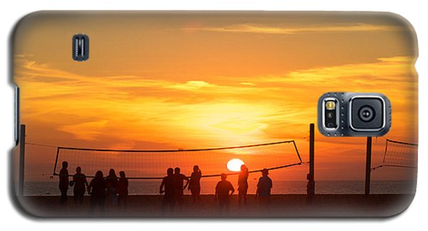 Sunset Volleyball Galaxy S5 Case