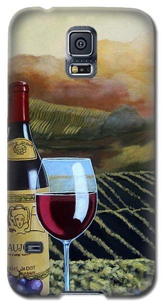 Sunset W/beaujolais Galaxy S5 Case