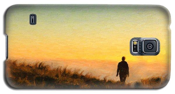 Sunset Walk Galaxy S5 Case