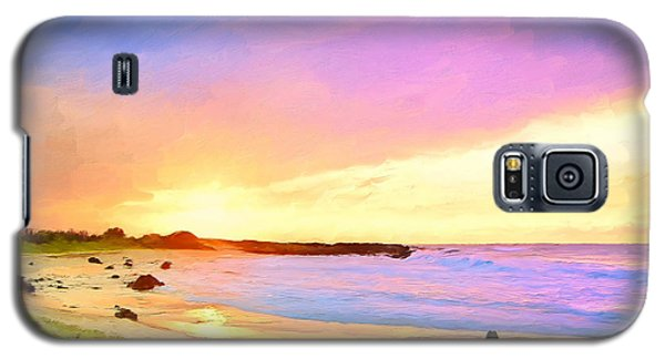 Sunset Walk Galaxy S5 Case by Dominic Piperata