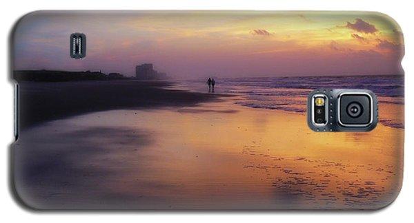 Sunset Walk On Myrtle Beach Galaxy S5 Case