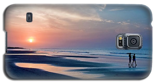 Sunset Walk Galaxy S5 Case