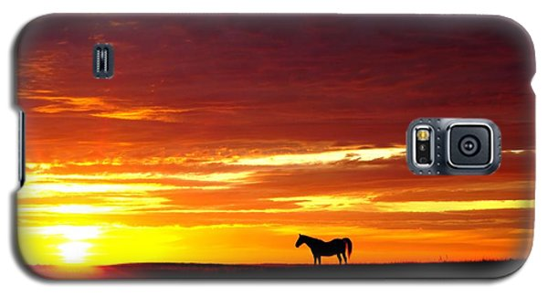 Sunset Watcher Galaxy S5 Case