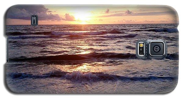 Sunset Waves 1 Galaxy S5 Case