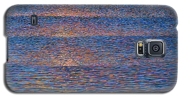 Sunset Waves Galaxy S5 Case by Laurie Stewart