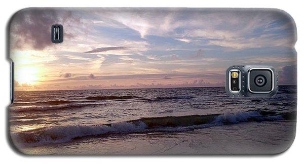 Sunset Waves  Galaxy S5 Case