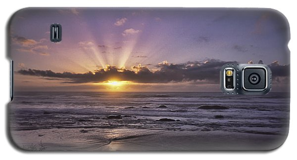 Sunset With God Beams Galaxy S5 Case