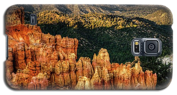 Sunsets In The Canyon Galaxy S5 Case by Rebecca Hiatt
