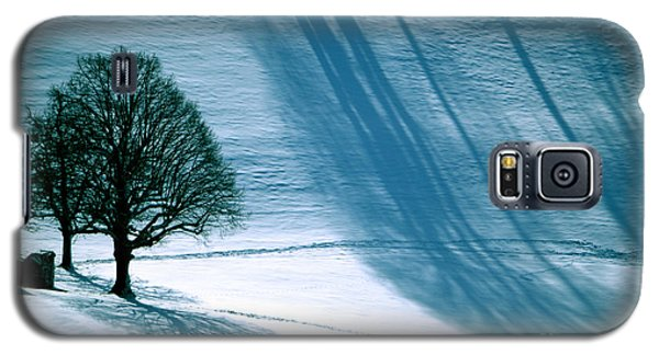 Galaxy S5 Case featuring the photograph Sunshine And Shadows - Winterwonderland by Susanne Van Hulst