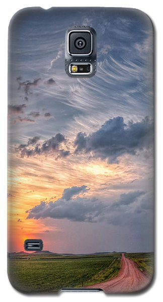 Sunshine And Storm Clouds Galaxy S5 Case