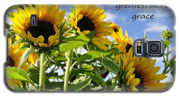 Galaxy S5 Case featuring the photograph Sunshine Lollipops Grace by Diane E Berry