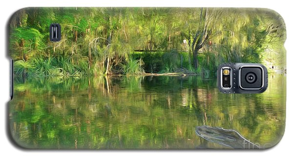 Galaxy S5 Case featuring the photograph Sunshine On Nature By Kaye Menner by Kaye Menner