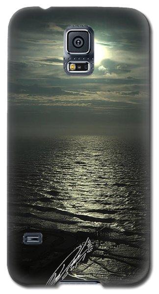 Sunshine Over Central Pier, Atlantic City, Nj Galaxy S5 Case