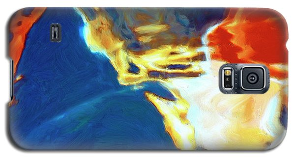 Galaxy S5 Case featuring the painting Sunspot by Dominic Piperata