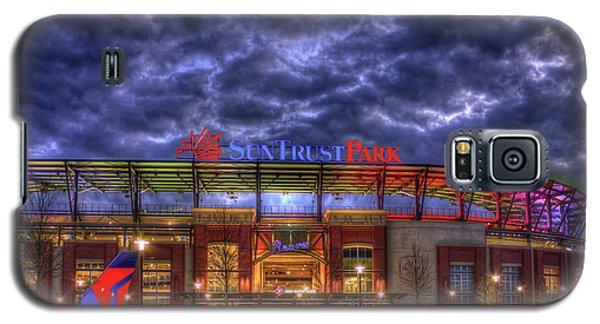 Suntrust Park Unfinished Atlanta Braves Baseball Art Galaxy S5 Case