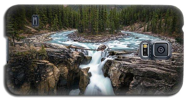 Sunwapta Falls In Jasper National Park Galaxy S5 Case