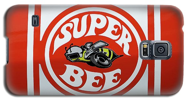 Galaxy S5 Case featuring the photograph Super Bee Emblem by Mike McGlothlen