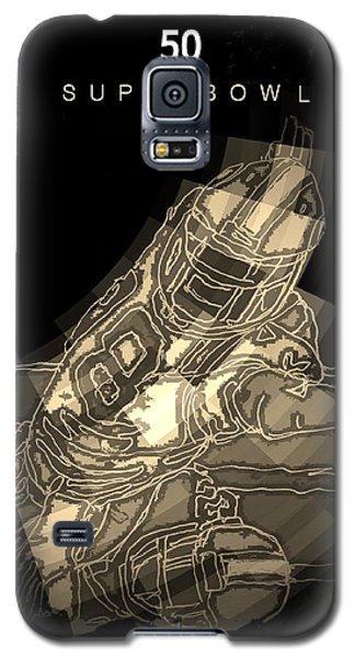 Super Bowl Poster Galaxy S5 Case