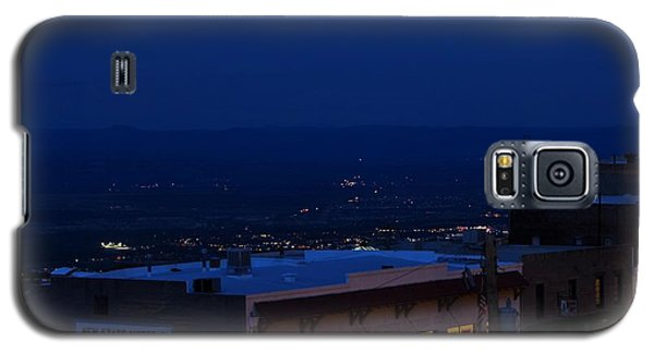 Super Full Moon 1/2 Eclipse Over Jerome Az Galaxy S5 Case