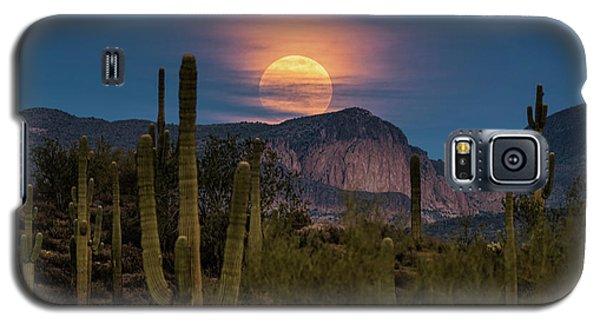 Super Moon 2018 - Wolf Moon  Galaxy S5 Case