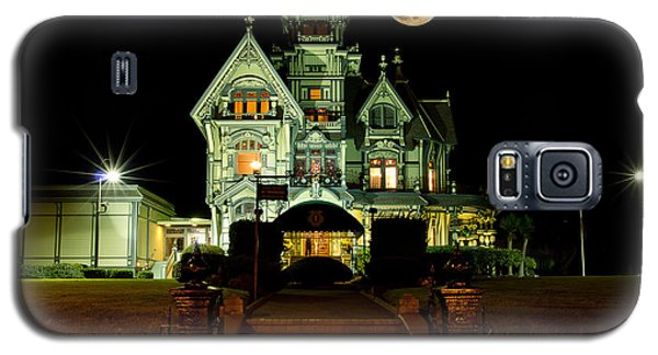 Super Moon Over Carson Mansion Galaxy S5 Case
