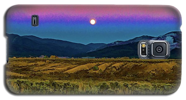 Super Moon Over Taos Galaxy S5 Case