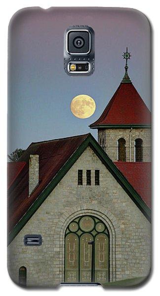 Super Moon Rising Galaxy S5 Case