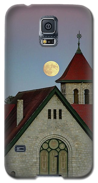 Super Moon Rising Galaxy S5 Case