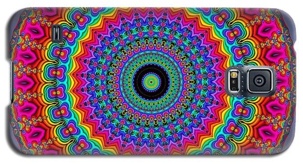 Super Rainbow Mandala Galaxy S5 Case