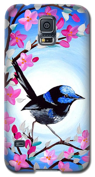 Superb Fairy Wren Galaxy S5 Case by Cathy Jacobs