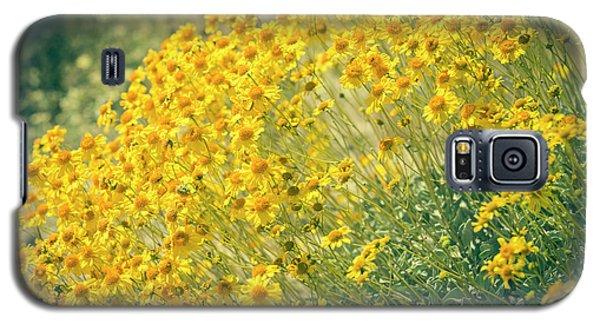 Superbloom Golden Yellow Galaxy S5 Case