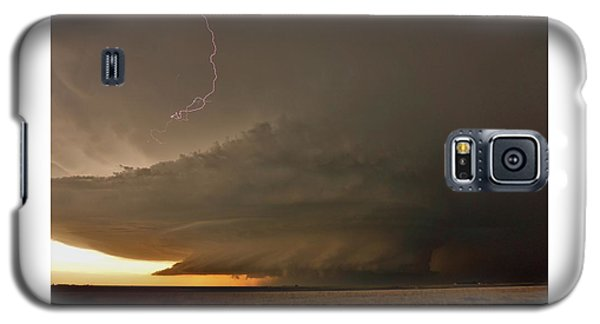 Supercell In Kansas Galaxy S5 Case by Ed Sweeney