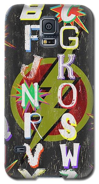 Superhero Galaxy S5 Case - Superhero Alphabet by Debbie DeWitt