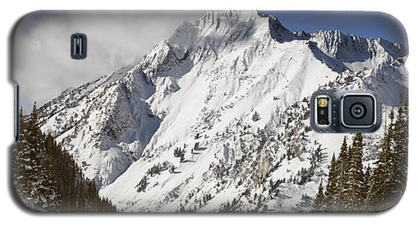 Superior Peak Wasatch Mountains Utah Panorama Galaxy S5 Case