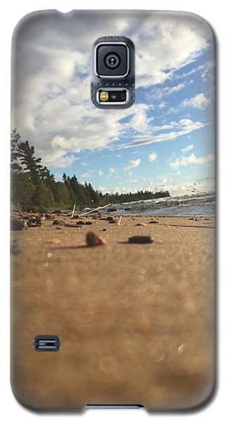 Galaxy S5 Case featuring the photograph Superior Shore by Paula Brown
