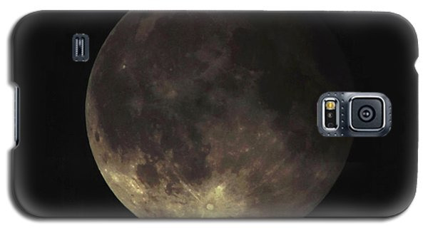 Galaxy S5 Case featuring the photograph Supermoon Blood Moon 001 by Lance Vaughn