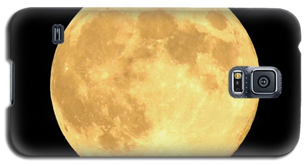 Supermoon Full Moon Galaxy S5 Case by Kyle West