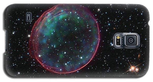 Supernova Bubble Resembles Holiday Ornament Galaxy S5 Case