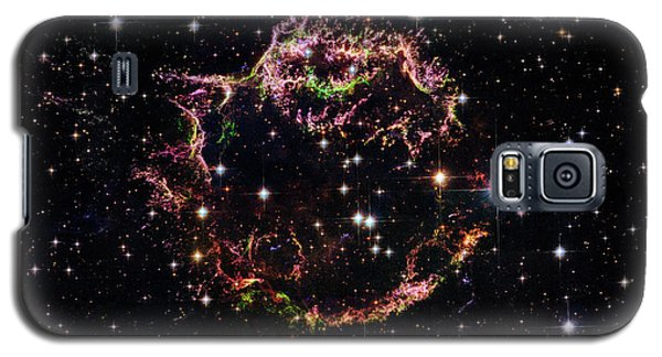 Galaxy S5 Case featuring the photograph Supernova Remnant Cassiopeia A by Marco Oliveira
