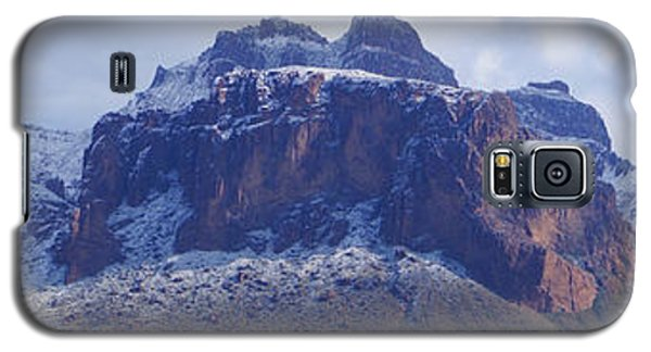 Superstition Mountain Snowfall Galaxy S5 Case